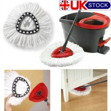 5x mop for Vileda Wring Mopping Replacement Clean Microfibre Mop Refill Head