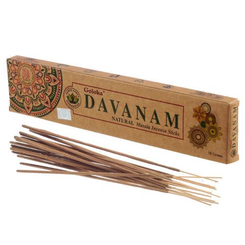 Goloka Incense Sticks - Davanam - Set of 6
