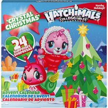HATCHIMALS 6044284 CollEGGtibles Advent Calendar with Exclusive Characters and Paper Craft Accessories, for Ages 5 and Up, Multicolour