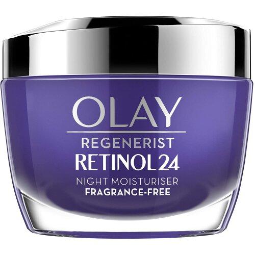 Olay Regenerist Retinol24 Night Face Cream With Retinol and Vitamin B3 50 ml, Fragrance Free