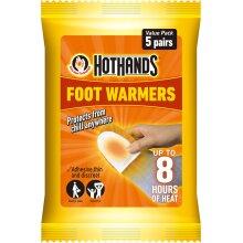 Hot Hands Feet Foot Toe Insole Heat Warmer Pack Of 5 (UK2020)