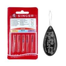 Singer Universal 2020 Sewing Machine Needles, Assorted Sizes 80 - 100