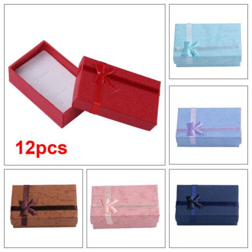 12xHigh Quality Jewellery Gift Boxes Necklace Bracelet Bangle Earring