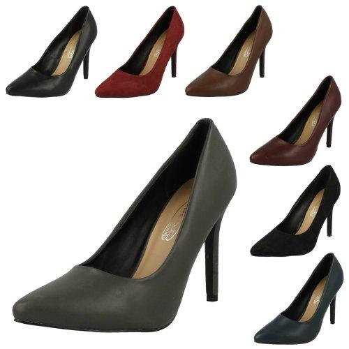 Ladies Spot On High Heel Shoes