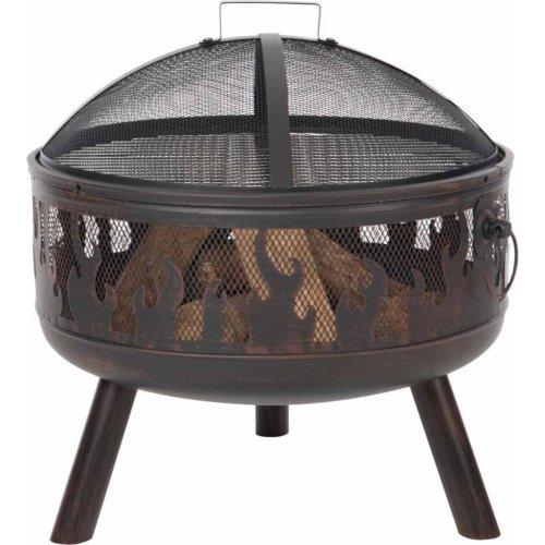 RedFire Fire Pit Blazer Bronze Steel Portable Fireplace Bowl Stove Heater