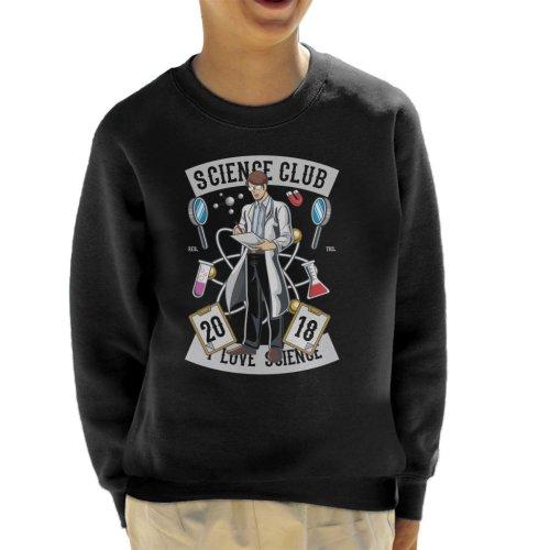 I Love Science Club Kid's Sweatshirt