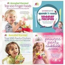 Annabel Karmel Recipes 4 Books Collection Set