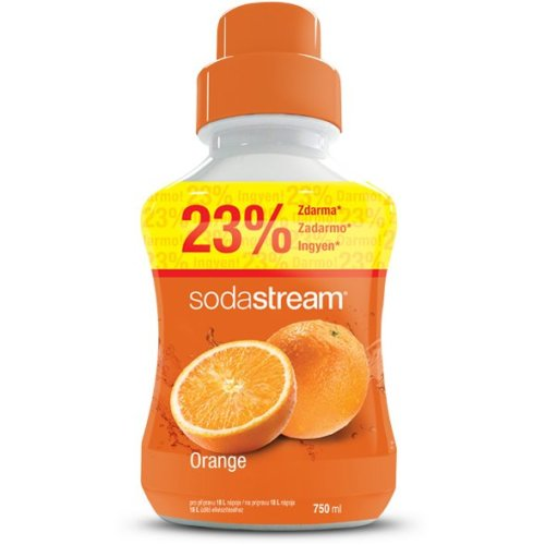 SodaStream Orange Concentrate Syrup - 750ml