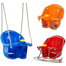 The Magic Toy Shop Children's Safety Swing Seat & Ropes Set