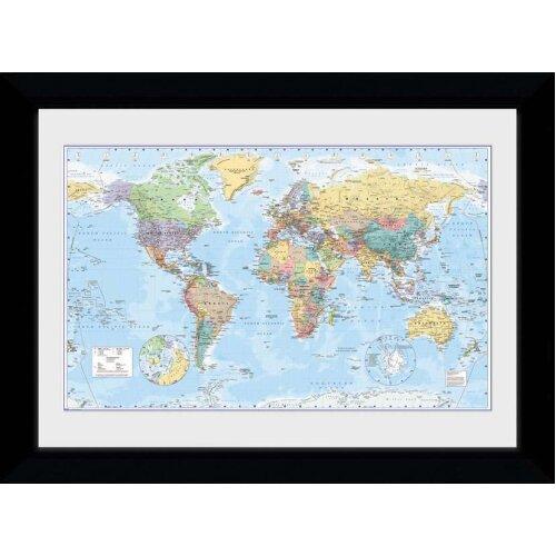 World Map 2017 Collector Print 50x70cm