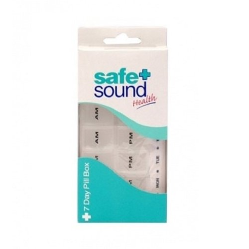 Safe & Sound 7 Day Pill Box AM/PM