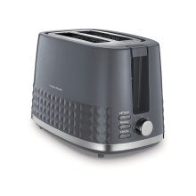 Morphy Richards Dimensions 2 Slice Toaster 220024 Two Slice Toaster Grey toaster