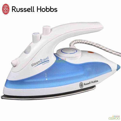 Russell Hobbs Steam Glide Travel Iron, 760 Watt (22470)
