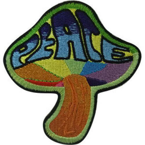 Patch - Mushrooms - Peace Mushroom Icon-On p-dsx-4805