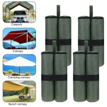 Set Of 4 Secure Sand Bag Leg Pole Weights Large Marquee Market Stall Gazebo Feet
