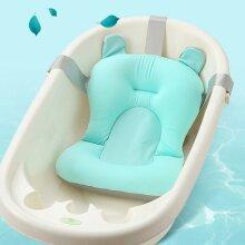 Baby Bath Tub Support Mat Foldable Infant Anti-slip Soft