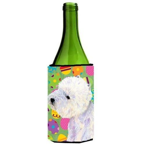 Westie Easter Eggtravaganza Wine Bottle  Hugger - 24 oz.