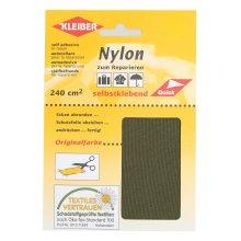 Kleiber Self Adhesive Waterproof Nylon Repair Patches, Olive Green