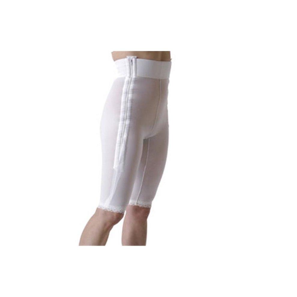 Rainey WL1-MT Lower Body Compression w// Side Zippers-Mid Thigh-2XL-CHA