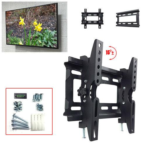 "14-49"" Tilt TV Wall Mount Bracket 40kg Weight Capacity Max VESA"