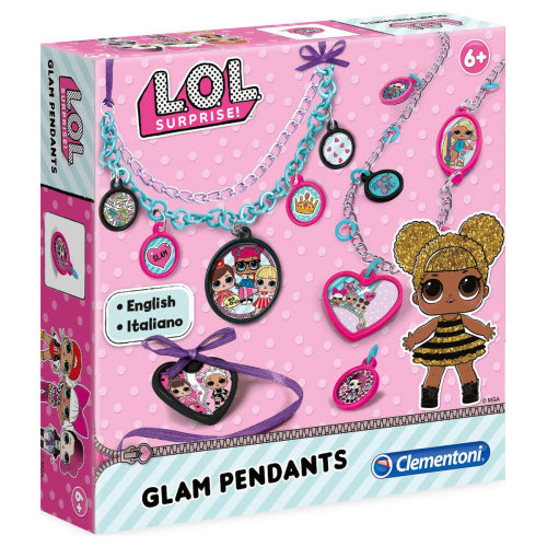 LOL Glam Pendants