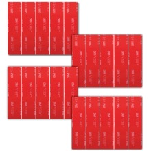 20 x Number Plate Sticky Pads, 3M Double Sided Number Plate Tape