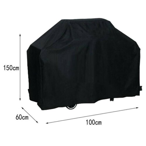 (100x60x150cm) BBQ Cover Heavy Duty Waterproof Barbeque Grill Waterproof Protector