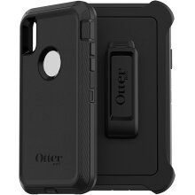 """OtterBox DEFENDER Series Rugged Protection Case for iPhone XR (6.1"""") - Black"""