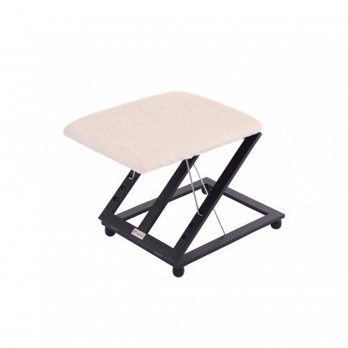 Oypla Adjustable Folding Cushion Padded Footstool Foot Leg Rest
