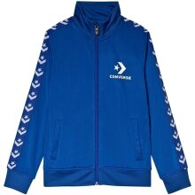 Converse Tricot Taping Track Jacket Blue
