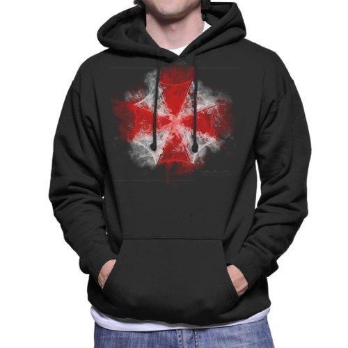 Umbrella Corp Smoke Resident Evil Men's Hooded Sweatshirt