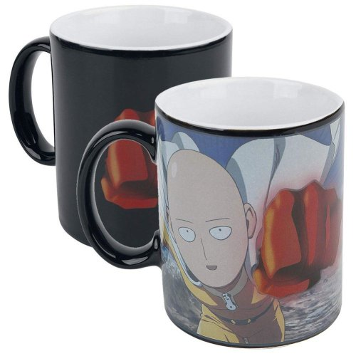 One Punch Man Official Heat Changing Mug