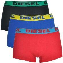 DIESEL 0GAFN Mens Boxers 3X Pack Stretch Cotton