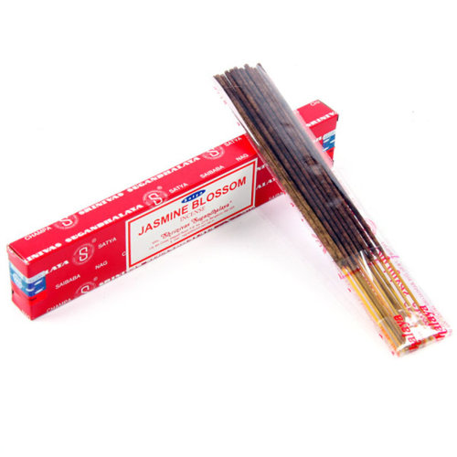 Satya Nag Champa Incense Sticks - Jasmine - Set of 12