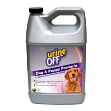 Urine Off Odour & Stain Remover Cleaner Carpet Dogs & Puppies 3.78L / 1 Gallon