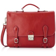 39x29x10 cm - Leather Briefcase - Made in Italy