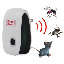 Electric Ultrasonic Pest Repeller Anti Mosquito Rodent Control Indoor