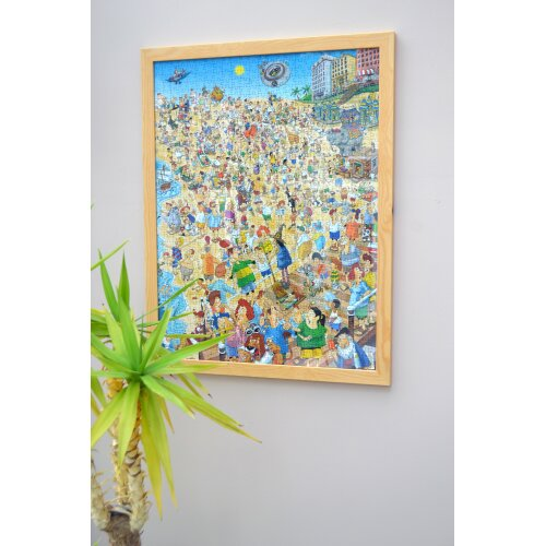 Wooden Frame for 1000 Piece Millboard Jigsaw Puzzle