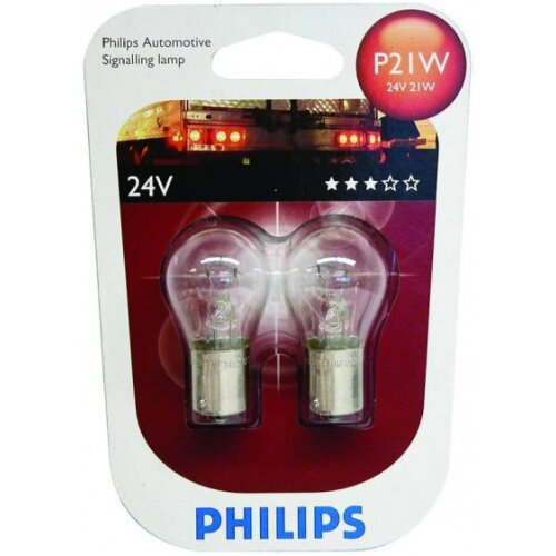 brake lights P21W 24V white 2 pieces