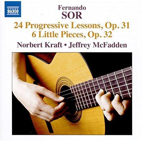 Norbert Kraft - Sor:24 Progressive Lessons [Norbert Kraft; Jerffrey McFadden] [NAXOS: 8573624] [CD]