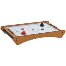 HOMCOM Mini Air Hockey Tabletop Game w/ 2 Pucks Pushers Fan Scoreboard Markings