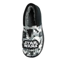 Star Wars Boys Slippers - Black and White