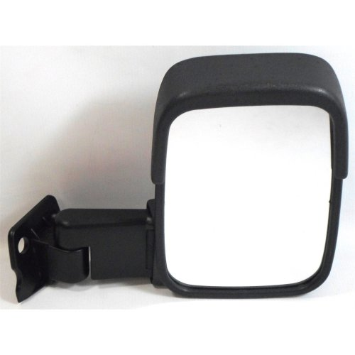 Ford Transit Van 1986-1994 Short Arm Manual Black Wing Door Mirror Drivers Side