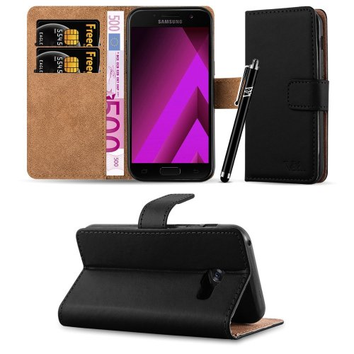For Galaxy A5 2017 Leather Flip Wallet Case Cover