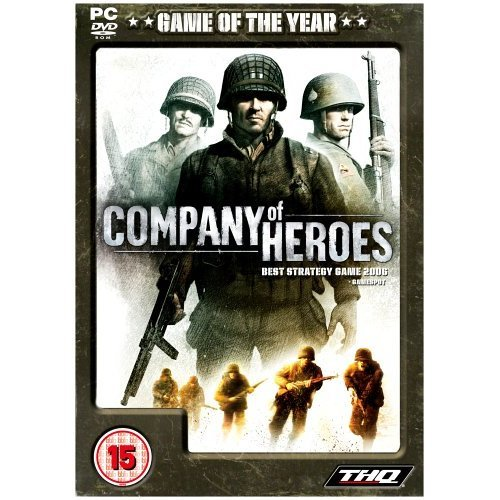 Used Company Of Heroes Incl Dawn Of War Game Of The Year Edition Pc Dvd On Onbuy