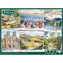 Falcon de luxe - The Beautiful North 1000 Piece Jigsaw Puzzle