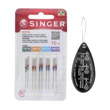 Singer Universal 2020 Sewing Machine Needles 10, Assorted 70/10-100/16
