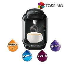 Tassimo Vivy 2 Hot Drinks Costa Coffee Machine Black 1300W 0.7L TAS1402GB Bosch
