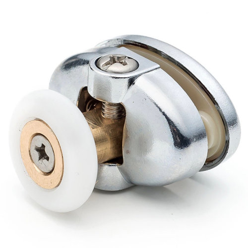 2 x Single Top Butterfly Shower Door Rollers/Runners 23mm or 25mm Wheel Diameter L077-1/L077-2