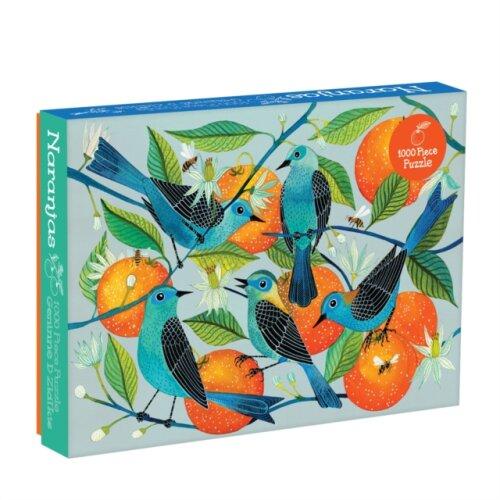 Geninne Zlatkis Naranjas 1000 Piece Puzzle by McMenemy & Sarah